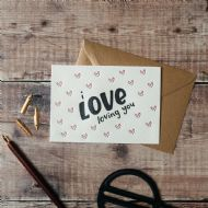Hunter Paper Co. I Love Loving You Card